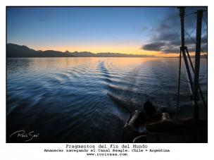 Canal Beagle. Tierra del Fuego. Chile